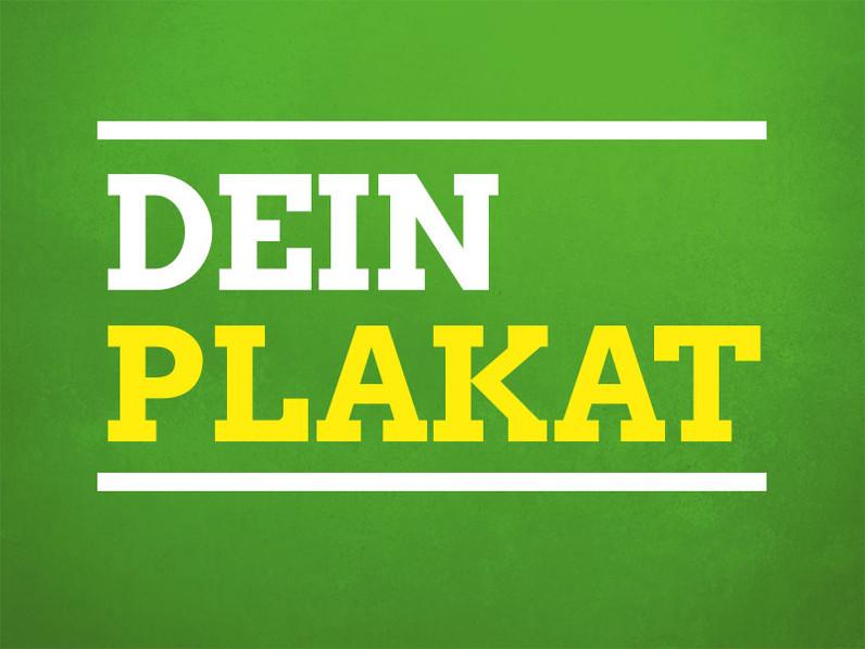 Plakat für NRW