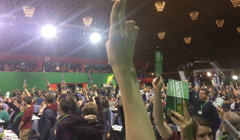 Abstimmung auf der BDK 2016 in Münster