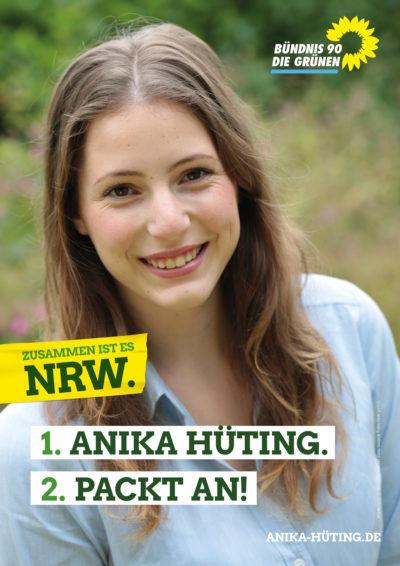Plakat von Anika Hüting
