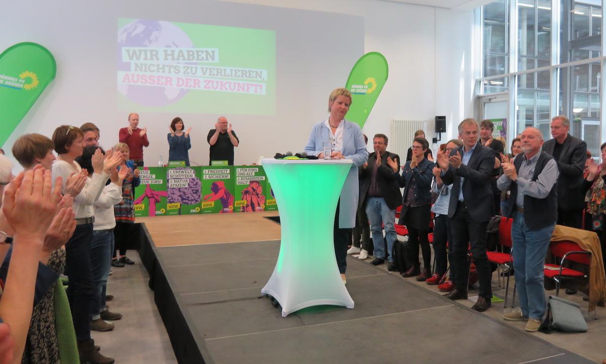 Sylvia Löhrmann auf dem Landesparteirat am 7. Mai 2017