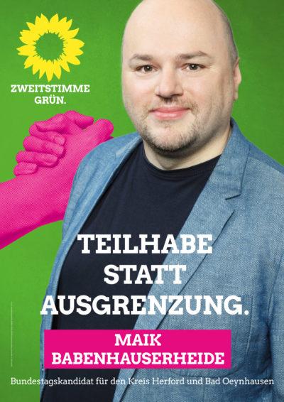 Plakat von Maik Babenhauserheide