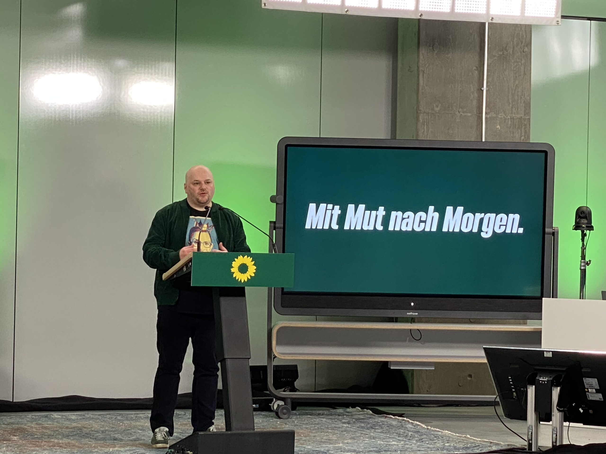 Wahl auf die Landesliste NRW