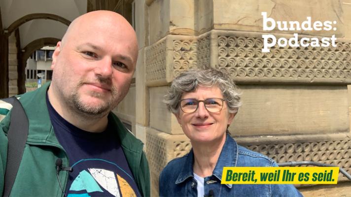 Von der Freude, sich einzumischen | Bei Britta Haßelmann in Bielefeld